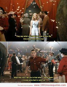 Ewan McGregor and Alison Lohman - Big Fish Big Fish Film, Big Fish Movie, Love Movie, Film Big, Movie Scene, Tim Burton, Series Quotes, Tv Quotes, Family Quotes