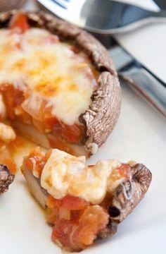 Portobello Pizza - very cute site - RABBIT FOOD FOR MY BUNNY TEETH
