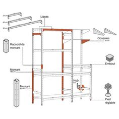 Epoxy merlin and ps on pinterest - Etagere modulable leroy merlin ...