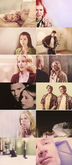 I don't understand. I don't know how to live in this world if these are the choices. If everything just gets stripped away. #btvs