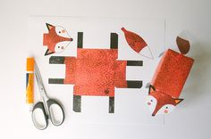DIY Fox Printable | onesheepishgirl