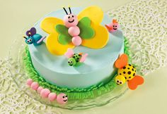 """guests not pests"" cake how to from Bake Decorate Celebrate"