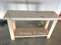 diy sofa table for only painted furniture Farmhouse Sofa Table, Diy Sofa Table, Sofa Tables, Diy Couch, Entry Tables, Diy Entryway Table, Wall Table Diy, Console Tables, Farmhouse Furniture