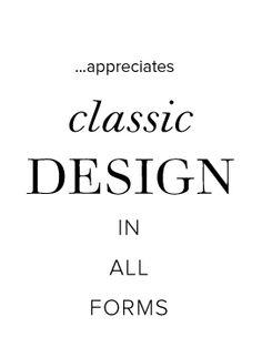 Classic design quote