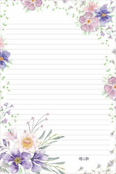 Stationery for printing ? Printable Lined Paper, Free Printable Stationery, Journal Paper, Journal Cards, Scrapbook Paper, Scrapbooking, Notebook Paper, Borders For Paper, Stationery Paper