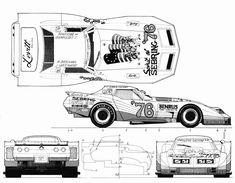 Greenwood Corvette blueprint