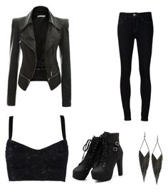 """""""Katherine pierce outfit."""" by aliam04 on Polyvore featuring Ström, Dolce&Gabbana and GUESS"""