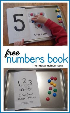This free counting book is perfect to use alongside a transportation theme in preschool!