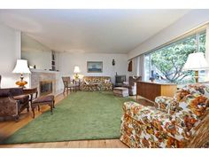 """124 2nd St - """"Grandma's"""" living room (didn't have to stage it!)"""