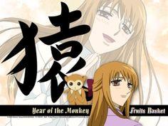 Fruits Basket - Ritsu Sohma: Year of the Monkey Awesome Anime, Anime Love, Anime Guys, Manga Anime, Monkey Wallpaper, Postage Stamp Quilt, Chinese Festival, Fruits Basket Anime, Year Of The Monkey