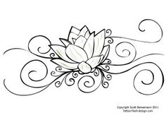 Lotus- would like this on my foot