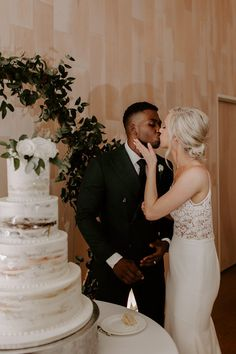 Classic Meets Cool in This Industrial Dallas Wedding at Howell and Dragon Interracial Marriage, Interracial Wedding, Interracial Babies, Wedding Couples, Wedding Photos, Wedding Ideas, Bridal Pictures, Wedding Trends, Purple Wedding