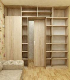 Шкаф-перегородка в 2х-комнатной Хрущевке