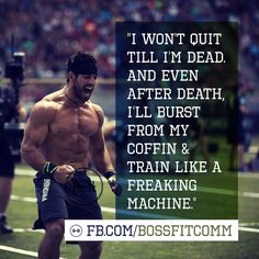 Rich Froning. CrossFit. BossFit.