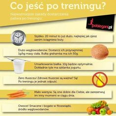 Co jeść po treningu Healthy Tips, Healthy Recipes, Healthy Food, Food Facts, Fitness Inspiration, Diet Recipes, Healthy Lifestyle, Food And Drink, Health Fitness