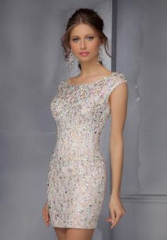 Mori Lee Sticks & Stones Homecoming Dress 9284 at Peaches Boutique