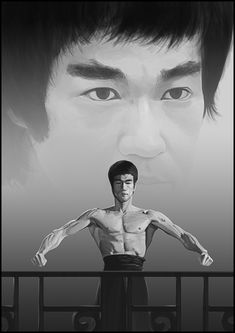 ArtStation - Bruce Lee: Likeness study, Grungenie 999 Bruce Lee Poster, Bruce Lee Art, Bruce Lee Martial Arts, Bruce Lee Quotes, Way Of The Dragon, Enter The Dragon, Kung Fu, Brice Lee, Bruce Lee Pictures