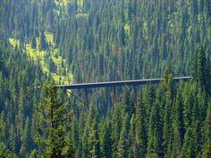 7. Route of the Hiawatha Bike Trail, Wallace