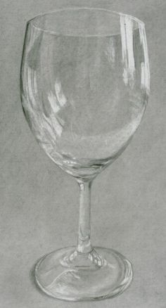 how to draw glass objects