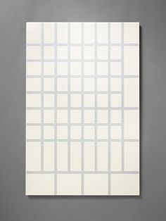 Billboard, large with large grid, white