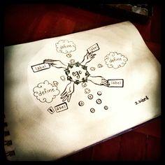 "Day 15: ""Grasp"" in Watercolor / Pen & Ink"