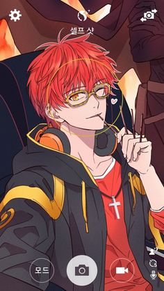 mystic messenger and luciel choi 이미지                                                                                                                                                                                 More
