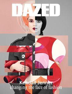 Dazed: Das Lifestyle- und Mode-Magazin titelt mit Kendall Jenner.