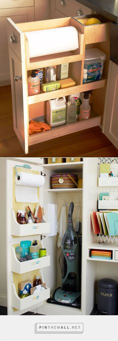 Storing Cleaning supplies