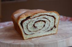 How to make cinnamon swirl bread.  I'm going to use my bread maker on the dough setting.  My kids like the cinnamon part but hate the raisins.  This will make them happy and get them to eat breakfast.
