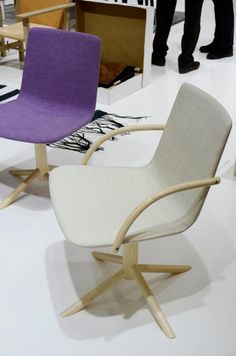 Chair by Gärsnäs, Sweden could see me using them as computer chairs.