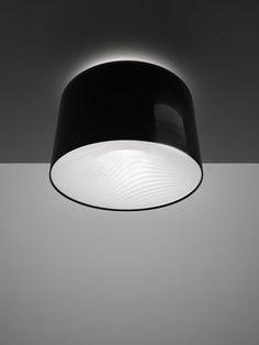Plafonnier Polinnia Ø 60 cm Noir brillant - Artemide