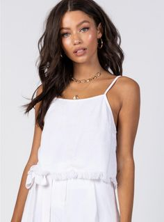 4cf5845aed628 AE Cropped Mesh Sweater Tank Top