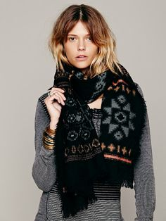 Free People Sundial Scarf at Free People Clothing Boutique