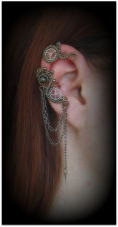 Steampunk Ear Cuff