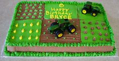 john deere birthday cake wouldn't mind having one of these this year!