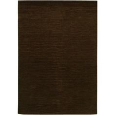 Entryway: Vinyasa Halcyon Chocolate Wool Rug (3'6 x 5'6) - Overstock™ Shopping - Great Deals on COURISTAN INC 3x5 - 4x6 Rugs