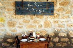 Seven St George Tavern, Paphos, Cyprus! Best Greek food ever!