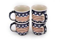 Stars & Stripes 4 Piece Mug Set