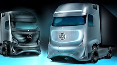 The Future Truck 2025 is a spectacular commercial vehicle concept which introduces autonomous driving for Europe's congested motorways.