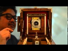This home-made wood camera is packed full of character and awesome vintage-looking design.