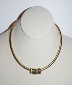 Sterling silver simulated diamond v shape journey omega chain joan rivers omega necklace with crystal slide pendants s986 aloadofball Images
