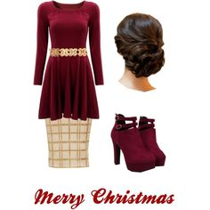 Christmas Pentecostal outfits by lizzie2461 on Polyvore featuring moda and Chanel