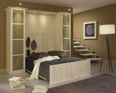 rangement derriere lit. Black Bedroom Furniture Sets. Home Design Ideas