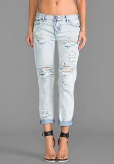 One Teaspoon Awesome Baggies Jeans in Fiasco