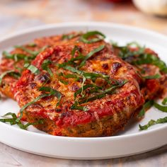 Low-Carb Eggplant Parmesan Recipe by Tasty
