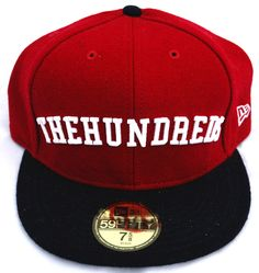 596577341091 Image of The Hundreds Arch New Era Fitted Cap 7 5 8 New Era Fitted