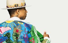 Pharrell Williams photographed by Alexei Hay and styled by Tobias Frericks for the Spring/Summer 2015 issue of GQ Style Germany.