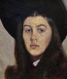 Self portrait, Lydia Vallimae Mark (Estonia, 1925-2004)