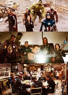 The Avengers! (One of the favorite movies!)