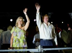 MYROYALS &HOLLYWOOD FASHİON: King Willem-Alexander and Queen Maxima visit Aruba - Day 1